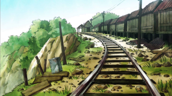 Unsurprisingly, this show doesn't really have pixiv presence yet. This pretty scenic shot from the show will do.